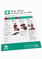 Basic advice on first aid at work - Front