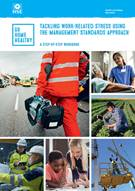 Tackling work-related stress using the management standards approach: a step-by-step workbook - Front