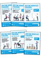 Workplace stress posters (illustration version) - Front