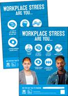 Workplace stress posters (infographic version) - Front