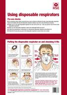Using Disposable Respirators A3 Poster
