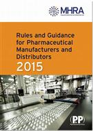 The Orange Guide -Rules and Guidance for Pharmaceutical Manufacturers and Distributors 2015 book jacket