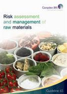 Risk Assessment and Management of Raw Materials  - Front