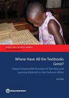 Where Have All the Textbooks Gone? - Front