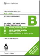 Approved Document B: Fire Safety, Volume 2 Buildings other than Dwellinghouses (2013 Edition) - Front