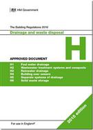 The Building Regulations 2015: Approved Document H: Drainage and waste disposal, 2015 edition - Front