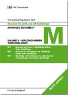 The Building Regulations 2015: Approved Document M: Access to and use of Buildings - Volume 2: Buildings other than Dwellings, 2015 Edition - Front