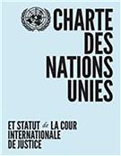 Charter of the United Nations and Statute of the International Court of Justice - French - Front