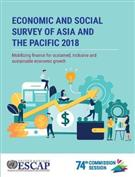 Economic and social survey of Asia and t - Front
