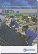 Health in the Green Economy - Front
