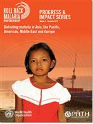 Defeating Malaria in Asia, the Pacific,  - Front