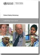 Patient Safety Workshop: Learning from Error - Front