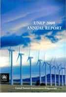 UNEP 2008 annual report - Front