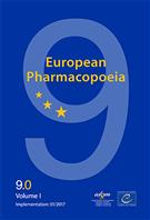 European Pharmacopoeia 9th edition Online