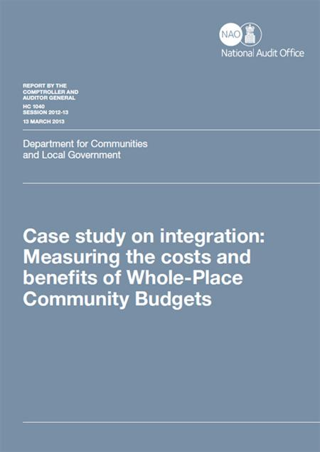 Case study on integration: measuring the costs and benefits
