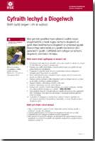 Health and safety law leaflet what you need to know welsh english